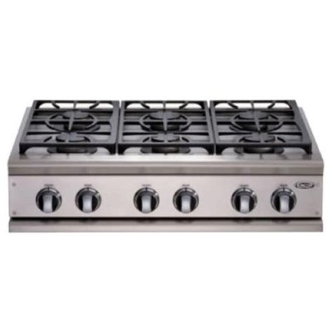 48 inch gas cooktop dcs cp 486gl n cooktops professional 48 inch propane gas
