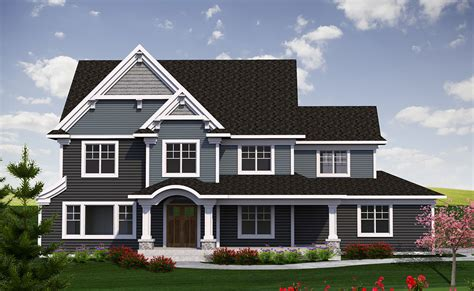 2 Story Traditional With Craftsman Touches