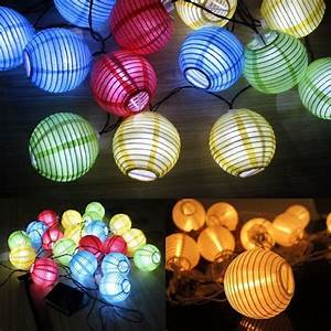Lampion Lichterkette Solar : new year china lantern led strip 10 led solar led ~ Watch28wear.com Haus und Dekorationen