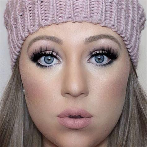winter themed face makeup  ideas  modern fashion blog