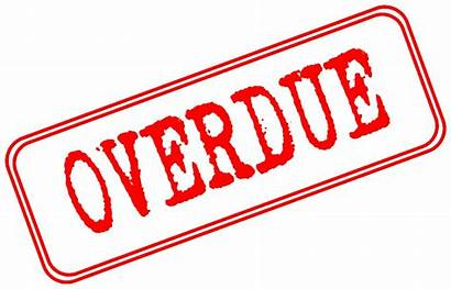 Due Date Clipart Library Clip Overdue Stamp