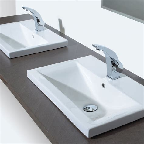 Double Bathroom Sinks Home Depot by Types De Vasque De Salle De Bain Consobrico Com