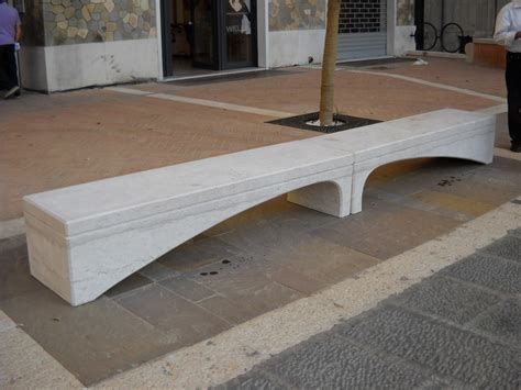 panchina in pietra di apricena onda panchina in pietra