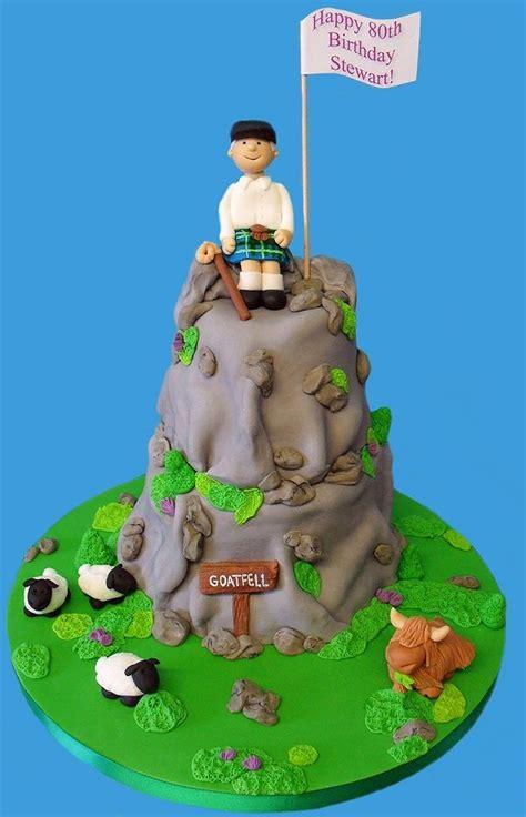 mountain cake ideas  pinterest forest cake