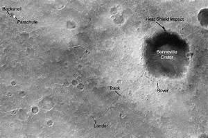 NASA - Mars Orbiter Sees Rover Tracks Among Thousands of ...