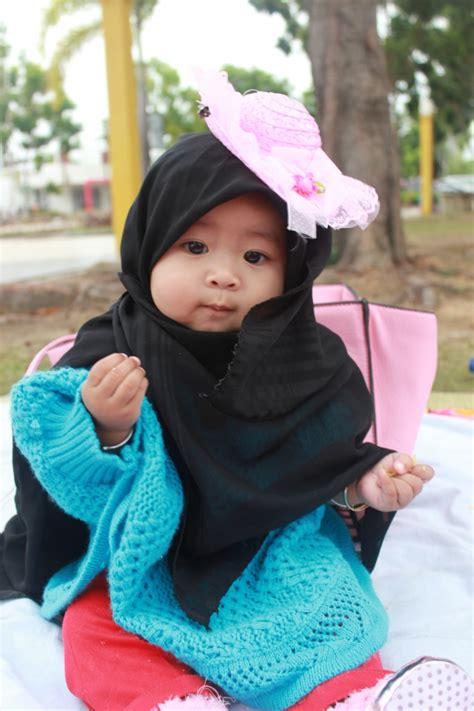 gaya hijab imut balita mandhira foto  dreamcoid