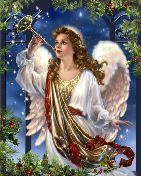 christmas angel herald angel by dona gelsinger puzzle