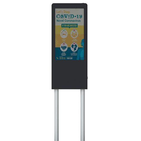 Reach new heights with the iskiosk free standing kiosk solution. Klera Free Standing Digital Signage Kiosk - TEMAS TEKNOLOJİ
