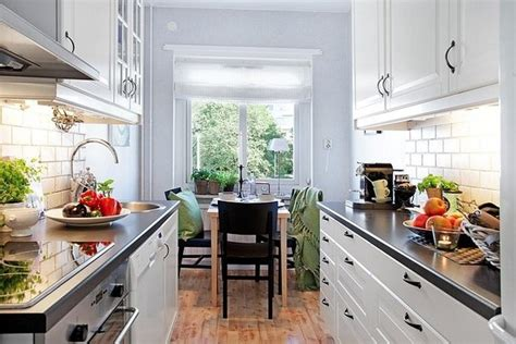 kitchen design for narrow spaces 17 best images about small and narrow kitchen space on pinterest open kitchen shelving small