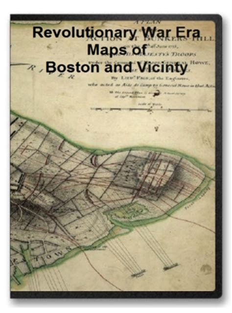 boston  vicinty revolutionary war era maps  cd