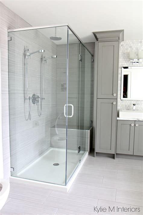 ensuite bathroom  porcelain tile floor  large tile