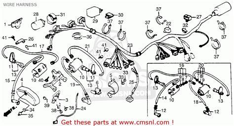 honda vt500 wiring diagram