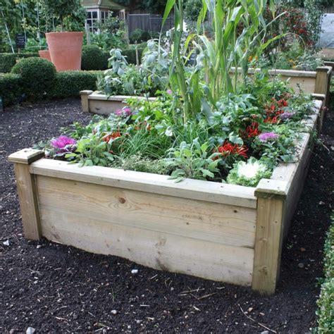 Garten Hochbeet Pflanzen by Hochbeet Im Garten Eine Sch 246 Ne Gartengestaltungsidee