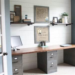 Büro Zuhause Einrichten : 18 tolle ideen wie du dein b ro zuhause sch n gestalten ~ Michelbontemps.com Haus und Dekorationen