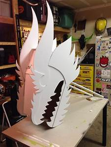 chinese dragon head built for my wife39s classroom by todd With cardboard dragon template