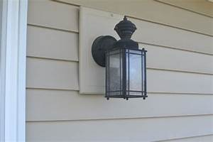 Replacing an outdoor light fixture a concord carpenter
