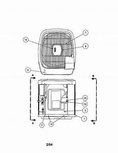 Carrier Model 38yxa030 Series330 Air Heat Pump