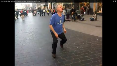 Funny Drunk Guy Dancing At Liverpool One Video YouTube