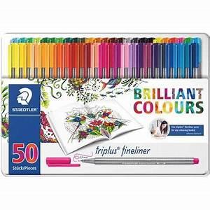 Staedtler Triplus Fineliner Color Pen 50 Pack Sammenlign