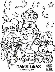 Coloring Pages Mardi Gras - AZ Coloring Pages