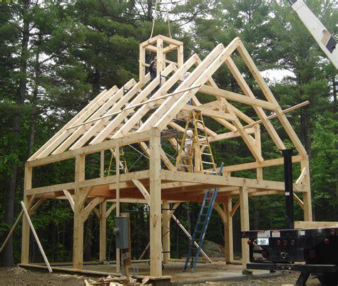 timber frame garage  living quarters dandk organizer