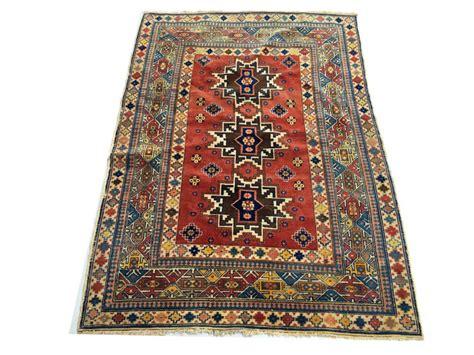 tapis d orient fait tapis d orient fait kazak ancien 120x170 cm catawiki