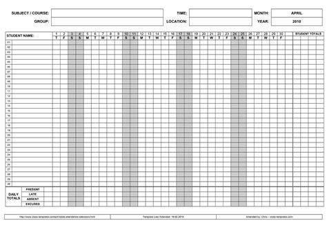 employee attendance calendar emmamcintyrephotographycom