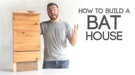 build  bat house modern builds ep  youtube