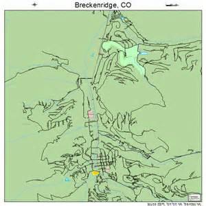 Breckenridge Colorado Street Map