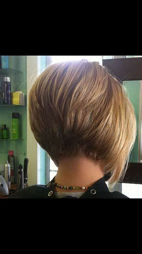 short stacked bob cuts    hair invertierte