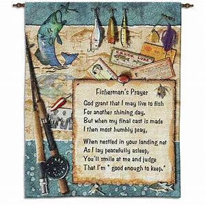 Fishermans Prayer Wall Hanging