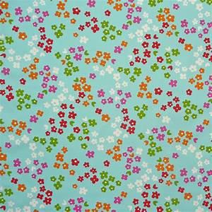 Blumen Im Sommer : dekostoff blumen bunt blau sommer stoffe stoffe gemustert stoff blumen ~ Whattoseeinmadrid.com Haus und Dekorationen