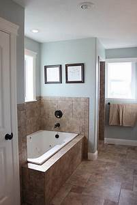 Natural bathroom colors are very popular the relaxing for Latex paint in bathroom