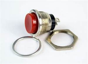 10 Pack Red Push Button Momentary Switch Normally Open