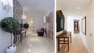 meuble pour long couloir With quelle couleur de peinture pour un couloir sombre 1 12 idees deco pour styliser un couloir long etroit ou sombre
