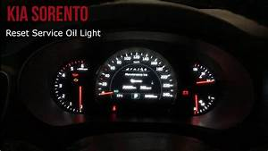 Kia Sorento - Reset Service Light