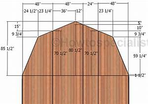 14x16 Barn Shed Roof Plans