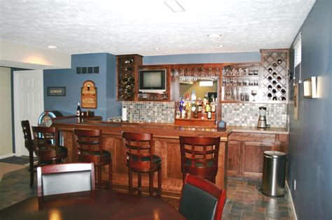 Custom Built Home Bars by Custom Built Home Bar Ideas In Ohio