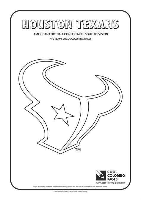 Nfl Logo Coloring Pages Pictures To Pin On Pinterest