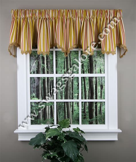 discount waverly valances colton valance cheap striped