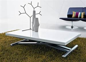 Coffee table transforming box coffee to dining table for Dining table coffee table combined