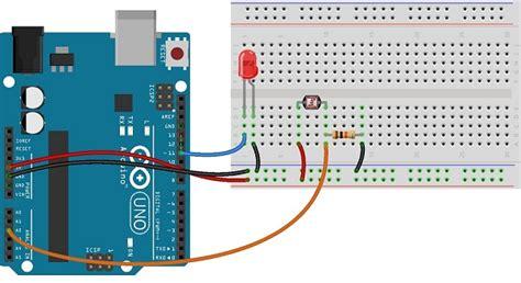 Photocell Ldr Sensor With Arduino Theorycircuit