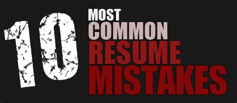 18999 common resume mistakes 214 zge 231 miş hazırlarken sık 231 a yapılan 10 hata b 246 l 252 m ii