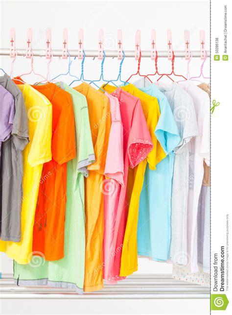 Clothes Line Stock Photo  Image 50286138
