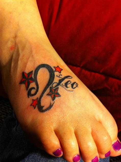 leo constellation tattoos
