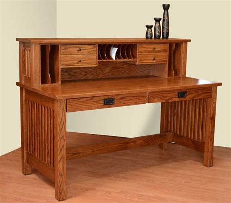solid wood writing desk amish valley mission solid wood writing desk
