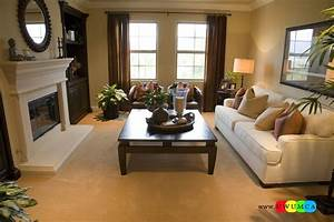 17 small rectangular living room layout how to create the for Furniture layout for rectangular living room with fireplace