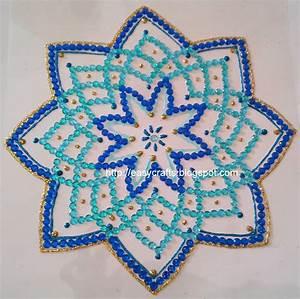 EC Indian Handicrafts' (Customised kundan rangolis