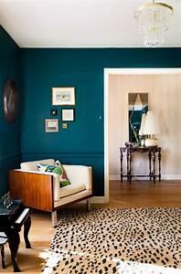 Déco Chambre Bleu Canard : d co bleu canard id es de peinture murale meubles et ~ Melissatoandfro.com Idées de Décoration