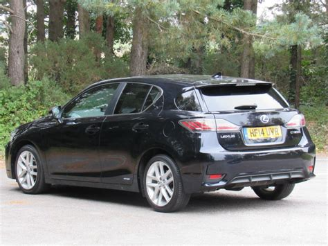 lexus hatchback used black lexus ct 200h for sale dorset